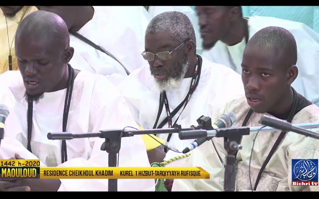 Gamou 2020   Wajhu Nabiiyil Muntaxa Kourel 1 Hizbut Tarqiyyah Rufisque