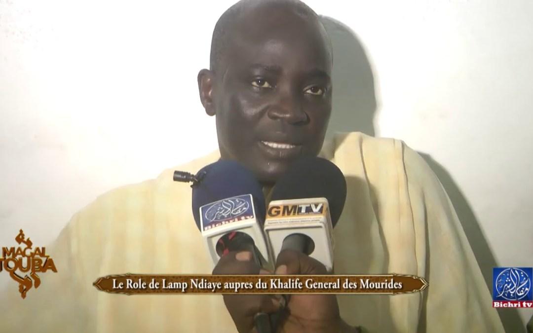 Le Rôle de Lamp Ndiaye auprès du Khalife General des Mourides