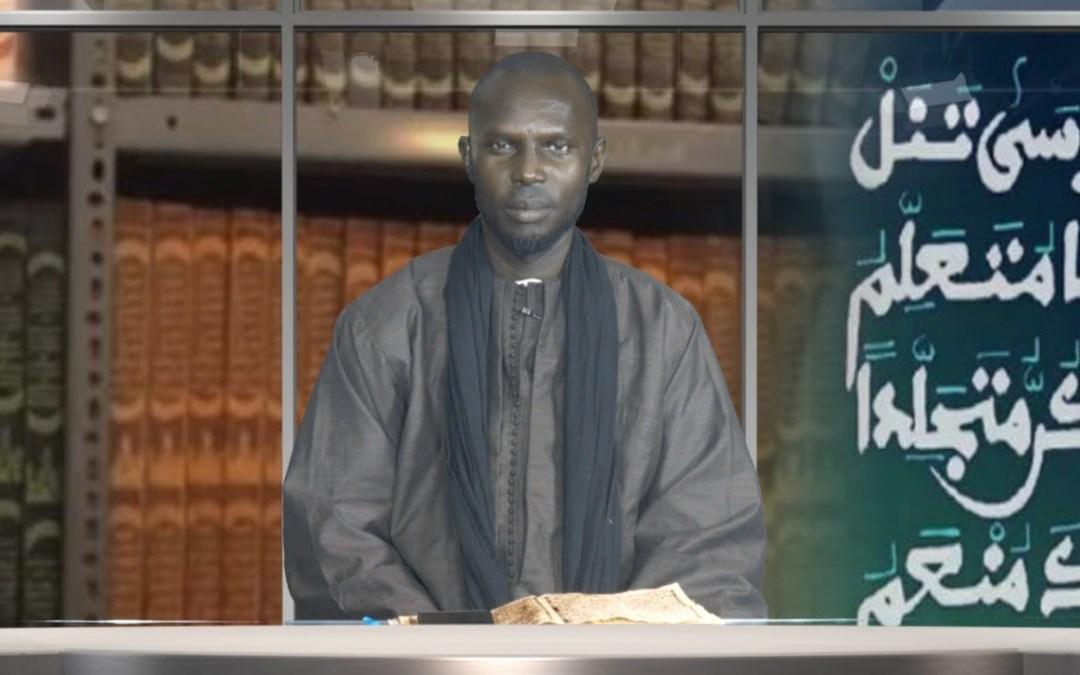 "🔴En direct | Njangaleem Cheikhoul Khadim | Tome 7 ""Massalikoul Djinane""P15"