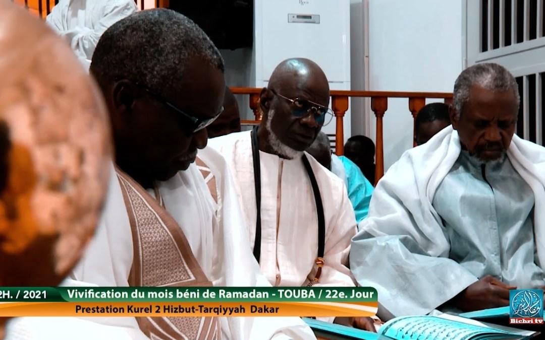 Wadjahtou Kourel 2 Hizbut Tarqiyyah Dakar   21e. jour Ramadan 2021 / 1442h