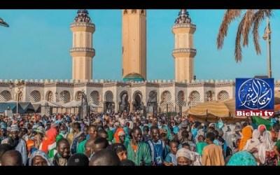 LIVE | Prière du Vendredi à la Grande Mosquée  de TOUBA   Ven.15 Octo Aout 2021