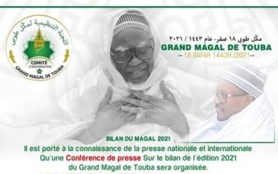 LIVE Touba |  Confèrence de Presse Serigne Bassirou  Abdou Khadr | Bilan Grande Magal De Touba