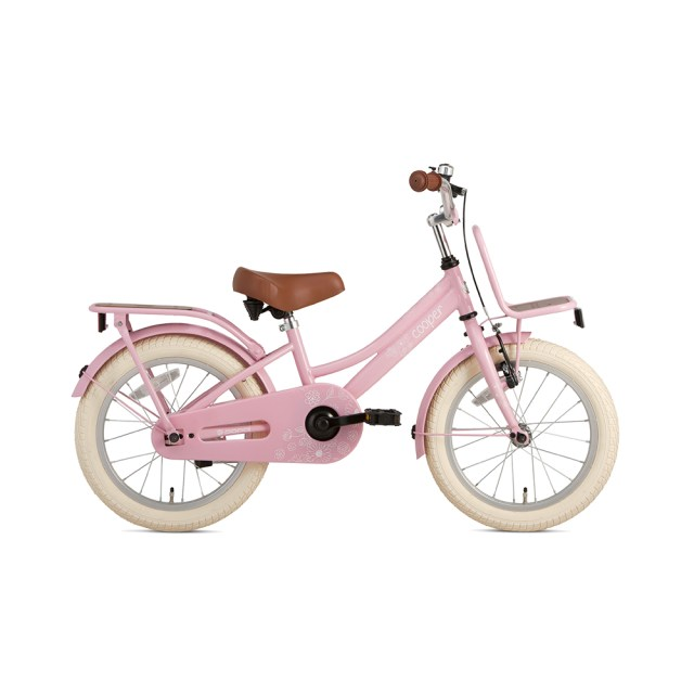 Bicicleta Cooper Bamboo – 16 pulgadas – rosa - Super Super