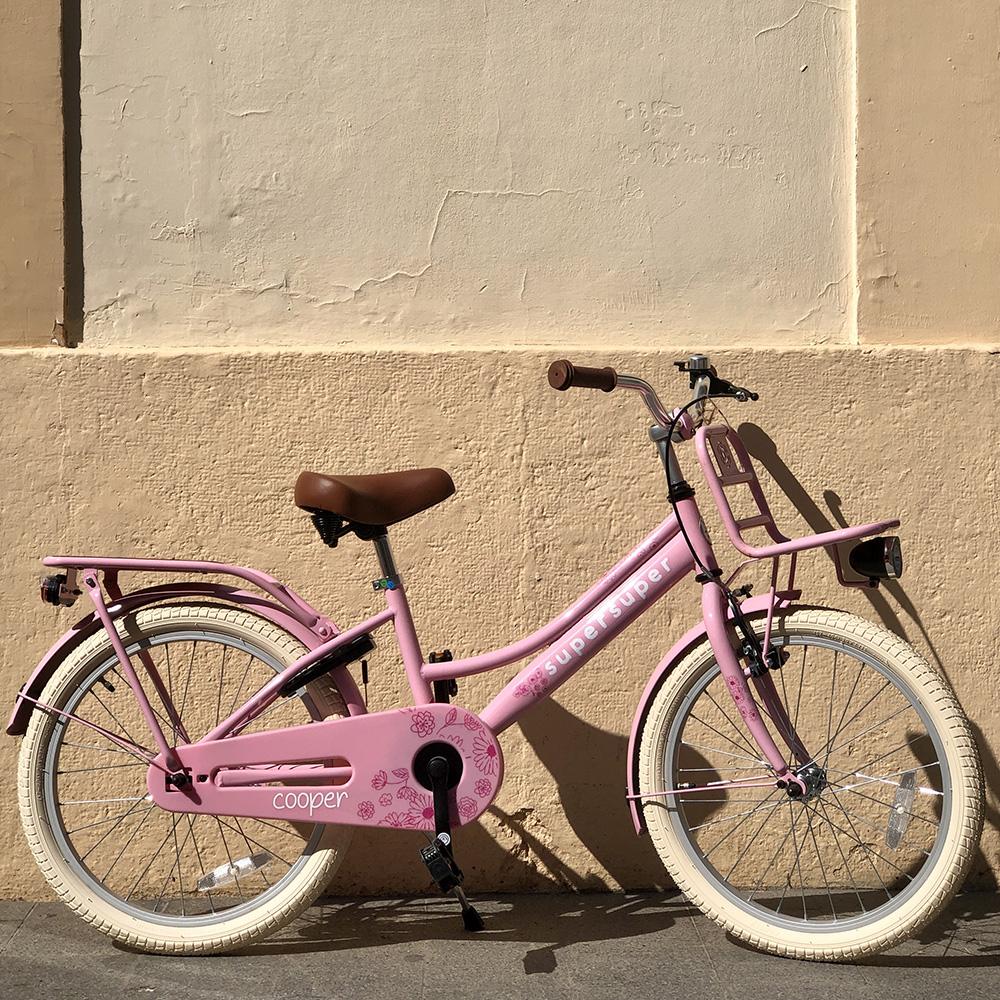 Bicicleta rosa 20