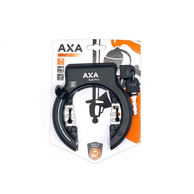 Candado Solid Plus, candado para la rueda trasera de la bicicleta ART 2 - AXA