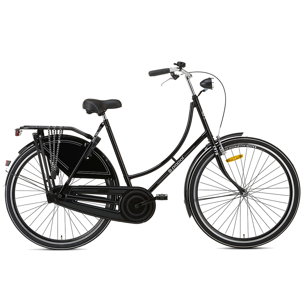 Bicicleta holandesa – 28 pulgadas – negro – Popal