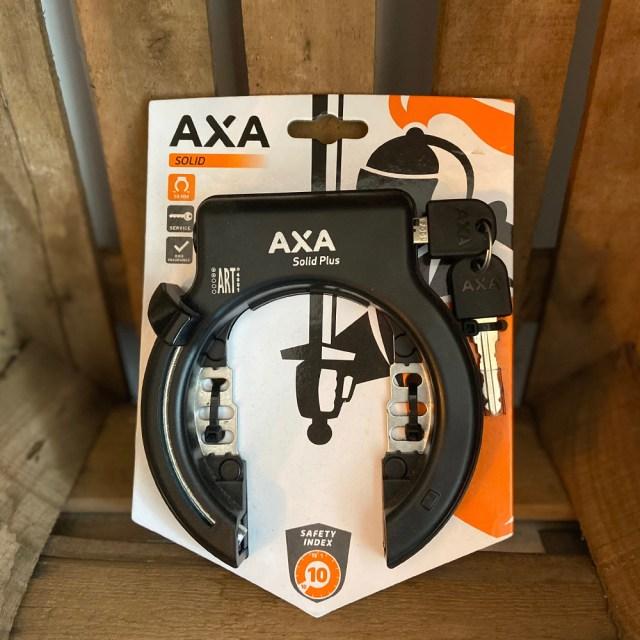 Candado Solid Plus, candado para la rueda trasera de la bicicleta ART 2 – AXA