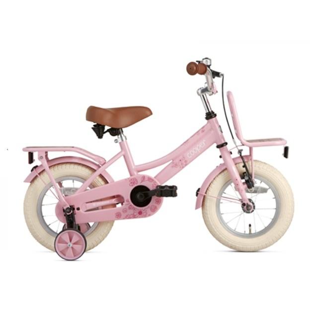 Bicicleta Cooper Bamboo - 12 pulgadas – rosa – Super Super