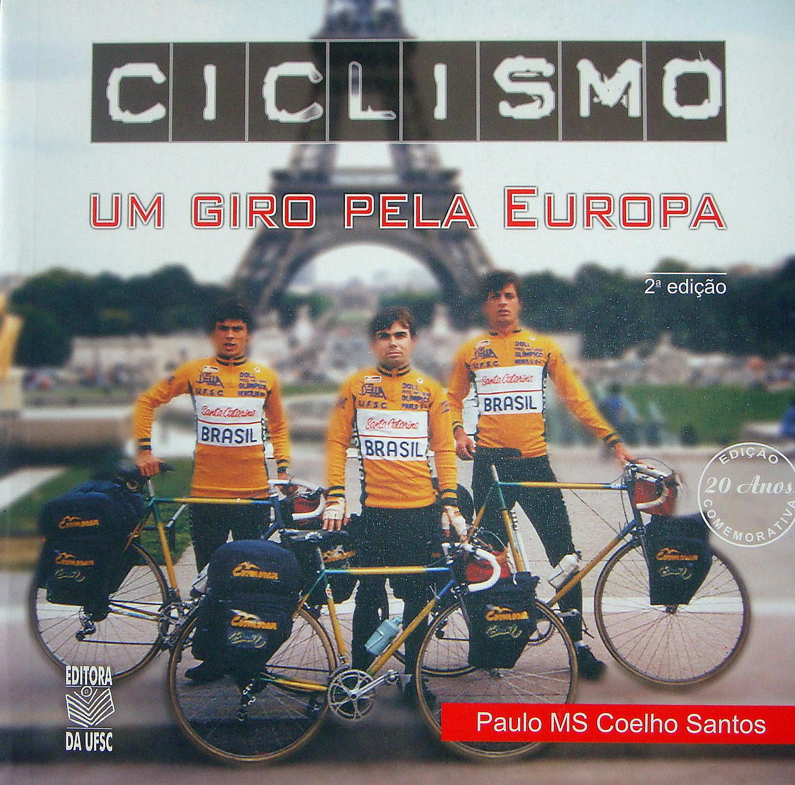 Ciclismo - Um giro pela Europa - capa