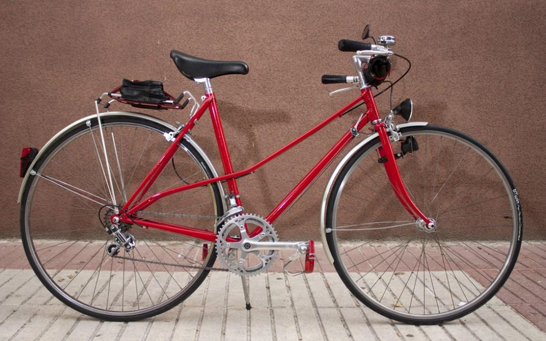 Bicicleta clásica Razesa de paseo