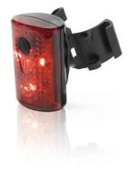 Luz trasera LED XLC CL-R14, XLC luz de seguridad roja CL-R14