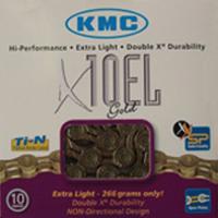 Cadena KMC X-10 EL Gold