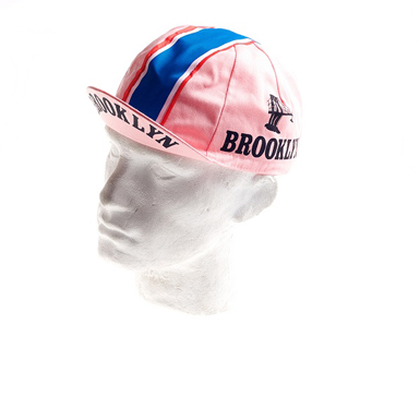 Gorra Ciclismo Vintage Brooklyn color rosa