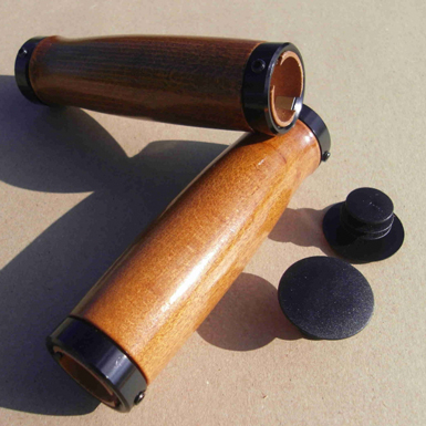 Puños clasicos de madera de Caoba