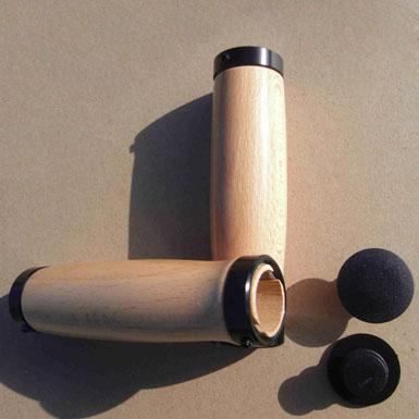 Puños clasicos de madera de Haya
