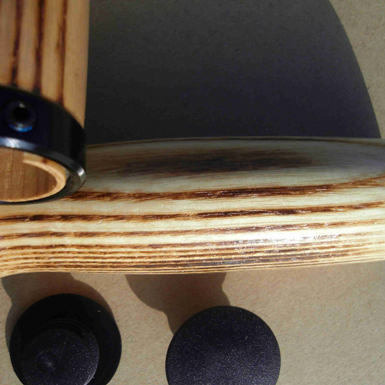 Puños clasicos en madera de Hickory