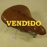 Sillín de cuero de muelles GES Eibar REF 069 VENDIDO