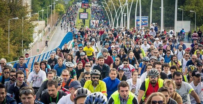 Marsul biciclistilor bucuresteni va avea loc pe 20 septembrie 2014