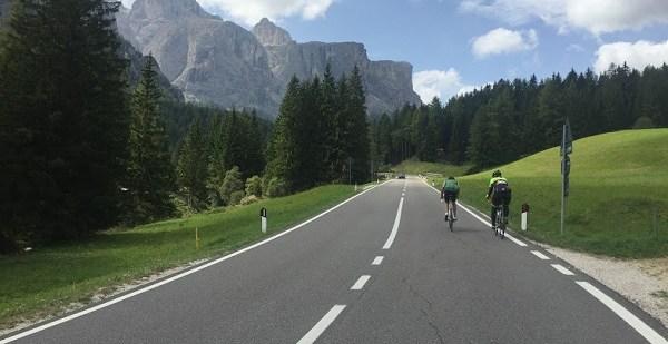 Am fost in concediu cu bicicleta in Dolomiti (Italia)