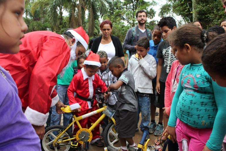 Campanha Bicicletas de Natal de 2012