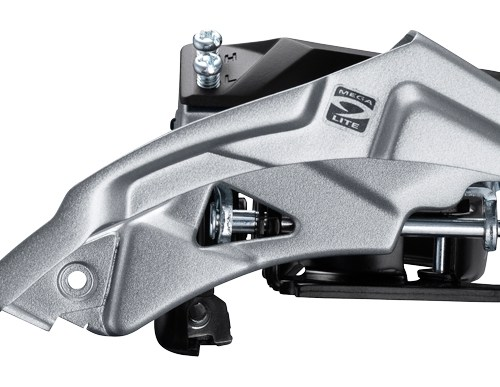 MENJAČ PREDNJI SHIMANO ALTUS FD-M2000, TRIPLE, FOR REAR 9 BRZINA, TOP SWING, DUAL PULL, BAND TYPE 34.9MM (INCL. ADAPTOR 31.8MM & 28.6MM), FOR 40T TOP, CS ANGLE 63-66, CHAINLINE 50MM, IND.PACK