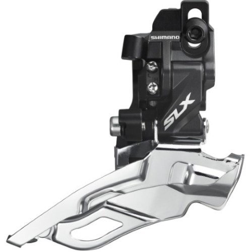 MENJAČ PREDNJI SHIMANO SLX FD-M671-A-D, TRIPLE, DOWN-SWING, DUAL-PULL, DIRECT MOUNT TYPE, FOR REAR 10 SPEED, CS ANGLE 66-69, FOR 40/42T, IND.PACK
