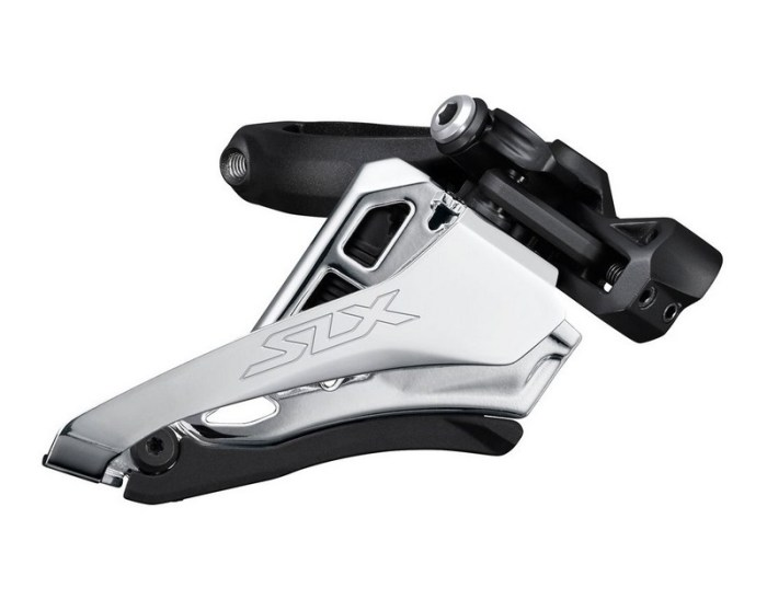 MENJAČ PREDNJI SHIMANO SLX FD-M7100-M, ZA 2X12 BRZINA, SIDE-SWING, FRONT-PULL, BAND-TYPE 34.9MM(W/28.6&31.8MM ADPT), CS-ANGLE 66-69, CL 48.8/51.8MM, IND.PACK