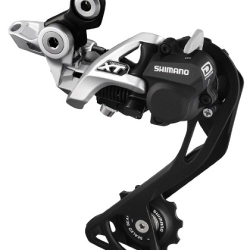 MENJAČ ZADNJI SHIMANO DEORE XT RD-M786-SGS, 10 BRZINA, TOP NORMAL SHADOW PLUS, DIRECT ATTACHMENT (DIRECT MOUNT COMPATIBLE), SIVI, IND.PACK