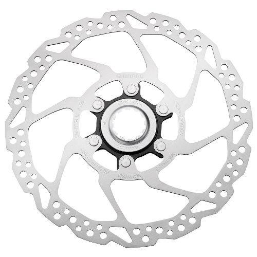 ROTOR DISK KOČNICE SHIMANO DEORE SM-RT54-M, 180MM, W/CENTER LOCK RING, FOR RESIN PAD ONLY, IND.PACK