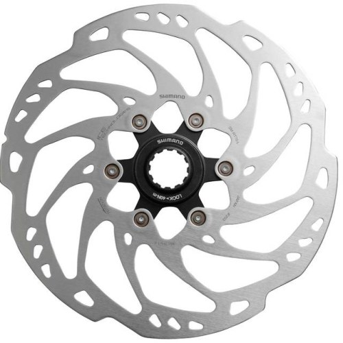 ROTOR DISK KOČNICE SHIMANO SLX SM-RT70-L, 203MM, CENTER LOCK, ICE TECH, LOCK RING, IND.PACK