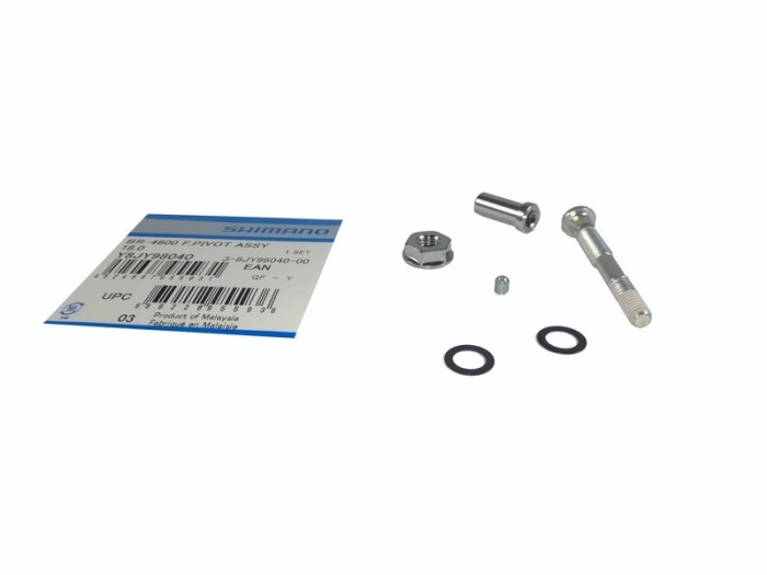 ZAVRTANJ KOČNICE SHIMANO BR-4600 PREDNJI PIVOT BOLT ASSEMBLY PIVOT BOLT 50.4MM / PIVOT NUT 18.0MM