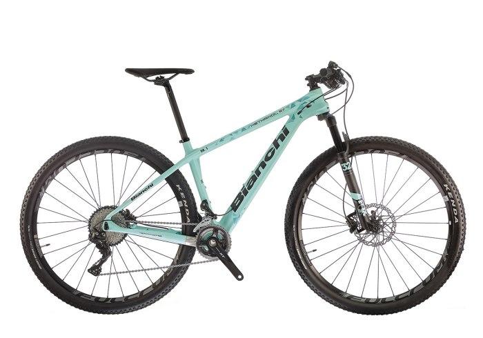 La mountain bike front da cross country Bianchi Methanol 29.1 SX (www.bianchi.com)