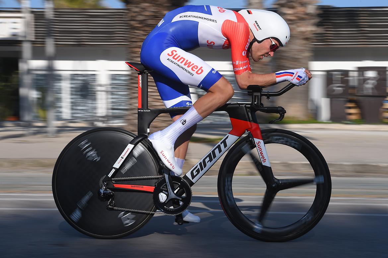 Un perfetto esempio di posizionamento in bici: il campione mondiale a cronometro di Bergen 2017 Tom Dumoulin