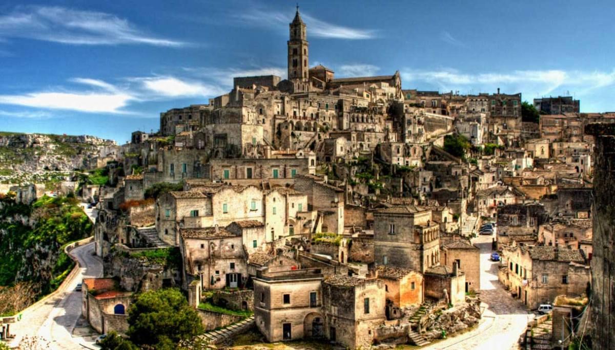 Spettacolare vista di Matera (siviaggia.it)