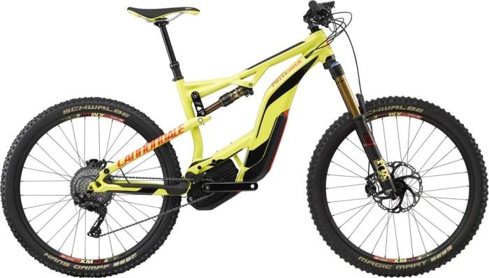 Immagine della mountain bike elettrica Cannondale Moterra LT1 (cannondale.com)