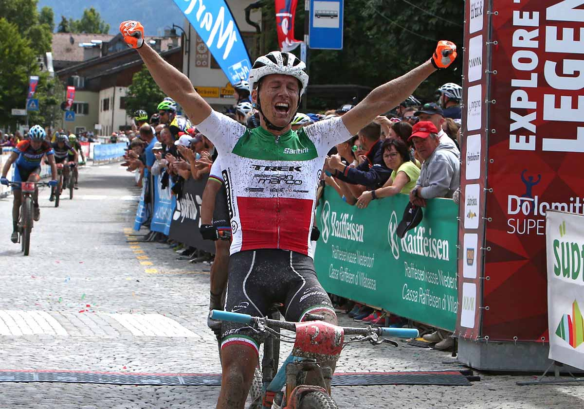 Il campione italiano in carica di XC Marathon Samuele Porro