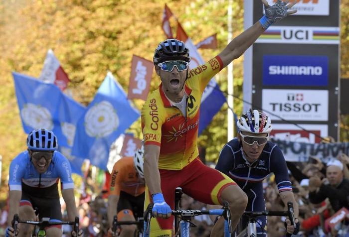 Valverde primo a Innsbruck