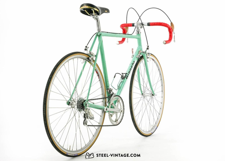 Storico modello di bici da corsa Bianchi Sprint con il telaio in acciaio (foto tratta dal sito web steel-vintage.com)