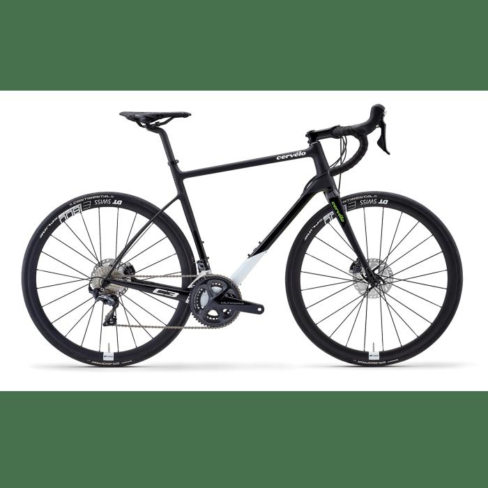 Cervélo C3, bici corsa endurance / gf con gruppo elettronico Shimano Ultegra Di2 (foto dal sito web di Focus Italia Group)