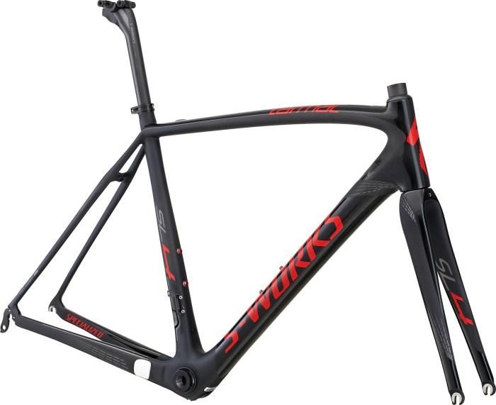 Foto del telaio originale della bici da corsa in carbonio Specialized S-Works Tarmac SL4 (immagine sito web specialized.com)