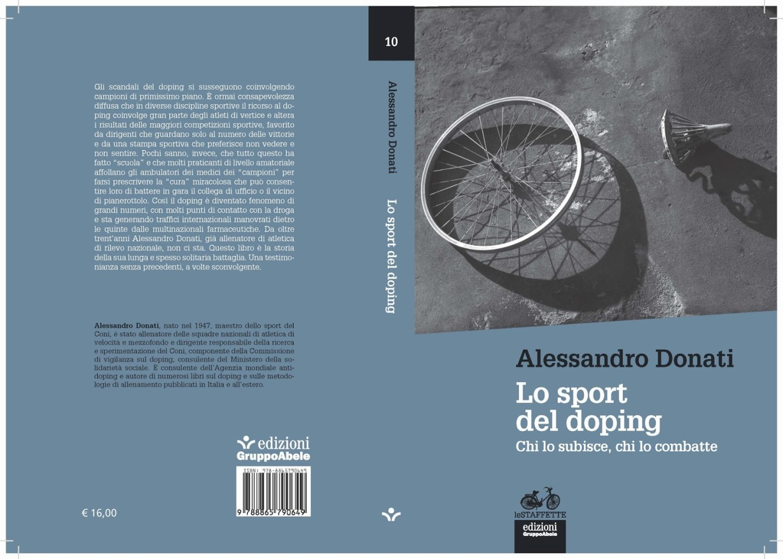 """Immagine della copertina del libro """"Lo sport del doping"""", scritto dal prof. Alessandro Donati"""