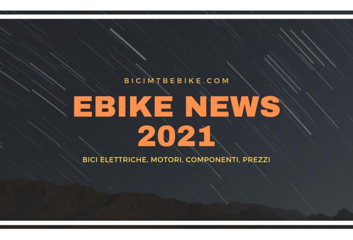 Novità ebike 2021