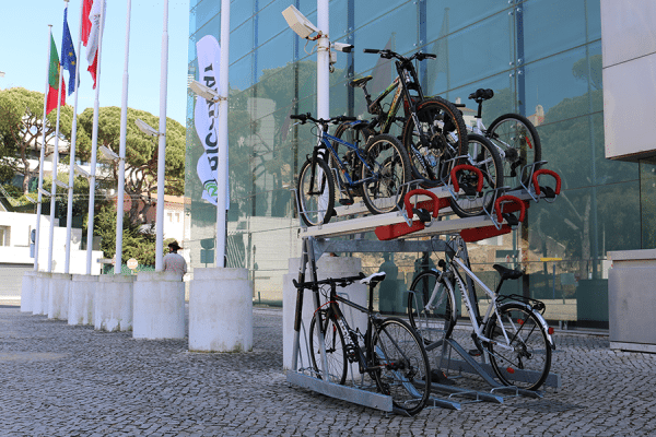 EASYlift Premium Velopa Biciway Two-Tier bike parking