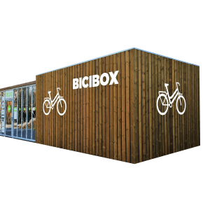 BiciBox Bike Box Bicycle storage bike parking estacionamento bicicletas