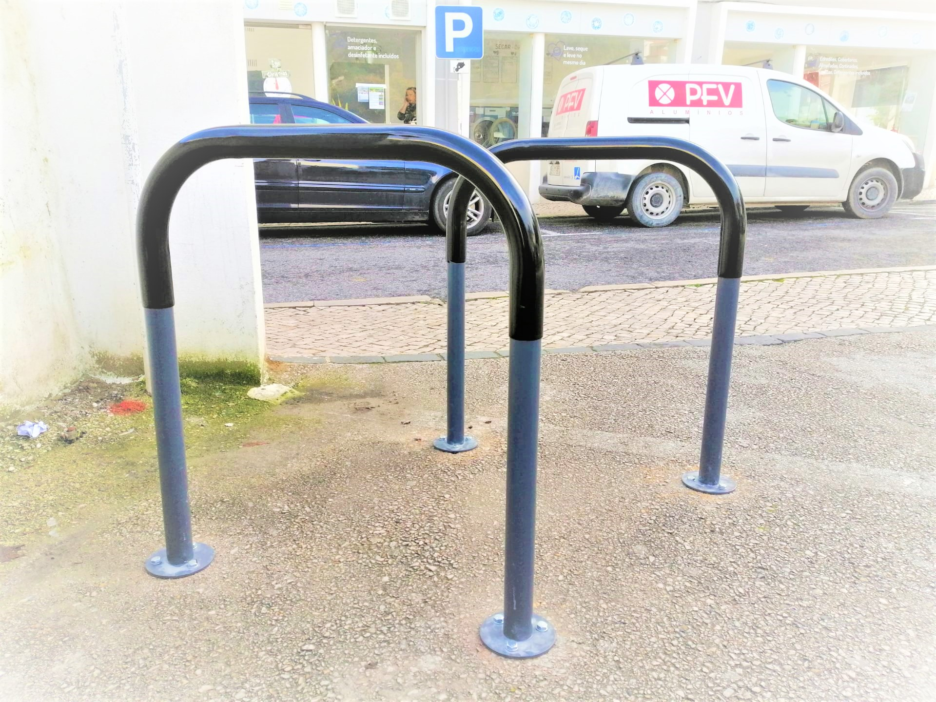 Biciparking Care Sheffield Parking Rubber