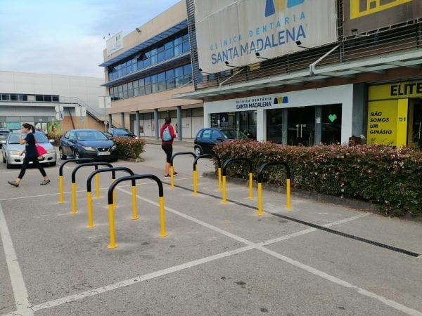 Biciparking Care Estacionamento Bicicleta Aborrachado