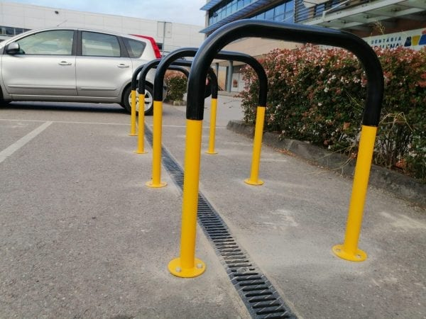 Biciparking Care Rubber Coated bicycle parking