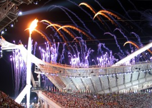 Lighting of the Olympic Flame