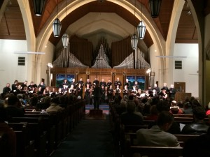 Vancouver Chamber Choir conducted by Jon Washburn