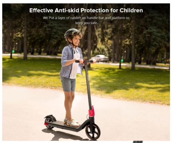 Kugoo Kirin Mini 2 Kids and Children Electric Scooter- Effective Anti-skid Protection For Children And Kids - Sale In Bicycle Land